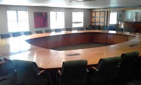 big round boardroom table neg