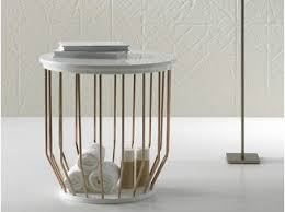 Laundry container / bathroom stool BOWL   Bathroom stool - INBANI