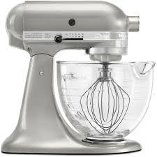 kitchenaid artisan designer 5 qt sugar pearl silver stand mixer ksm155gbsr the home depot