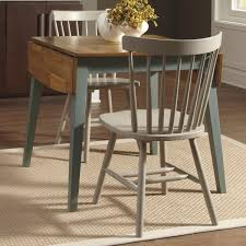 Round Drop Leaf Kitchen Table And Chairs Suitable With White Drop