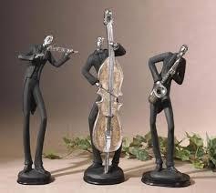harlem nights jazz figurine sculpture statue home d cor