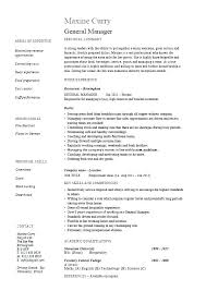 Resume For Construction Manager Resume Bank