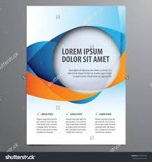 business flyer brochure vector template stock vector  business flyer brochure vector template
