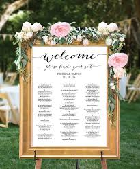 Pinterest Wedding Seating Chart Wedding Seating Chart Editable Pdf Table By