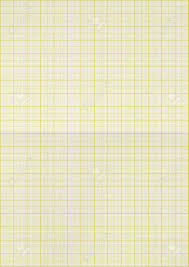 Yellow Color Lines Graph Paper Background