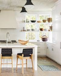 Kitchen Trend: Open Shelving in Front of WindowsBECKI OWENS ...