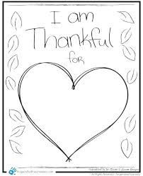 I Am Thankful Coloring Pages Thanksgiving Coloring Page I Am
