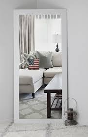 Modern White Baroque Floor Mirror R For Models Ideas