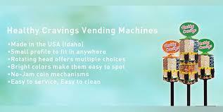 U Turn Vending Machine Complaints Impressive Healthy Cravings Snack Vending FoodFranchise