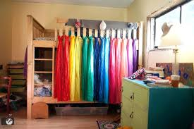 diy bed tents how to make loft bed curtains net diy bed tents