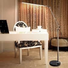 floor standing lamps for living room. led floor lamp living room swing arm adjustable balcony reading light 5000-5500k standing lamps with marble base home decor lighting for