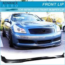 infiniti g35 sedan 2008. for 07 08 09 infiniti g35 sedan jdm ralli style pu front lip spoiler poly urethane infiniti sedan 2008