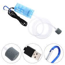 Eshopdeal hàng Có Sẵn máy Sục Khí Bơm Hơi USB, Máy Bơm Sục Khí Oxy Nhỏ Gọn  Cho Bể Cá Bể Cá   Máy bơm hồ cá