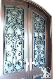 wrought iron inserts for entry doors glass inserts front doors front door wrought iron inserts decorative