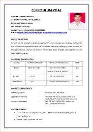 Resume Format For Jobs Download Resume Format For Job Application Download Perfect Resume Format 2