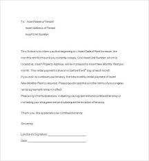 Lease Termination Notice Sample Military Letter To Landlord ...