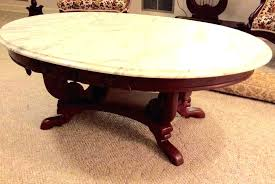 antique oval marble top coffee table marble top coffee table oval marble top coffee table oval