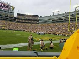 Lambeau Field Section 105 Home Of Green Bay Packers