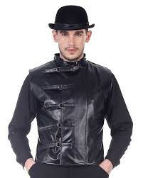 steampunk leather jacket to enlarge