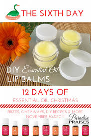 diy essential oil lip balm recipes via paradisepraises com