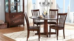 round dining room sets for 8 dining fabulous round table dinette sets rm slat cherry 5 room white dining room table seats 8