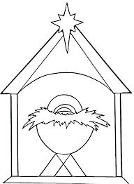 Christmas Nativity Scene Coloring Sheets Related Post Free Coloring