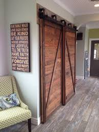 awesome bypass barn doors for the kitchen pantry
