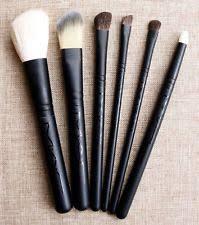 uk stock mac 6pc foundation contour eye makeup brushes essential travel set kit