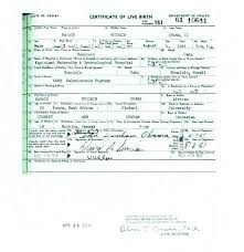 Novelty Birth Certificate Template