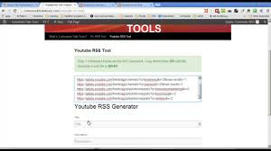 - Favorites Playlists Tool For Channel Youtube Videos Rss Generator Feed