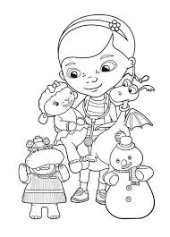 Doc Mcstuffins Coloring Pages Movies And Tv Show Coloring Pages