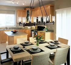 rectangular chandelier dining room for home
