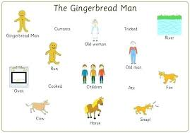 Gingerbread Man Felt Board Story Template Gingerbread Man Activities For Preschoolers Best M Cs Images On Free