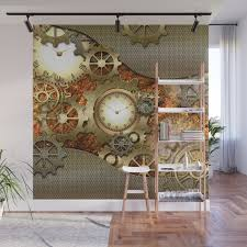 steampunk wall mural by nicky2342