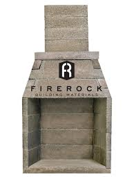 firerock prefabricated masonry fireplace systems have quickly become an industry fireplace pic w logo