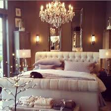 Romantic Bedroom Ideas A Stunning Chandelier Romantic Bedroom