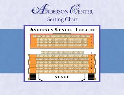 Anderson Center Seating Chart Ticket Information Beechmont Players Inc
