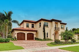 Boca Raton Florida Custom Spanish Style Residence Miami Style Homes Adorable Miami Home Design Exterior