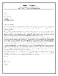 Cover Letter Sample Teacher Cool Cover Letter Samples For Teachers Samples Of Education Cover Letters
