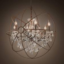 globe crystal chandelier pertaining to newest globes for chandelier large globe chandelier lightupmyparty intended view