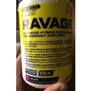 beyond raw ravage advanced hybrid muscle building pre workout lifier tary supplement