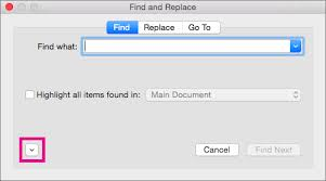 Text Document Find And Replace Text Word