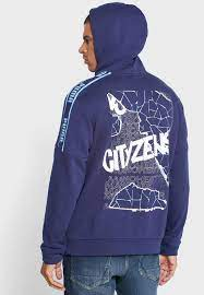 Buy PUMA navy Manchester City ftblCulture Hoodie for Men in MENA, Worldwide