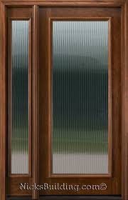 majestic glass n250 full lite door with reed glass