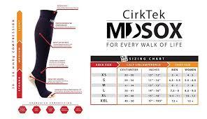 Mdsox Graduated Compression Socks Black Cmpression Socks