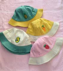 Mũ Vành Hai Màu Siêu Xinh Cho Bé - Tặng bấm móng em bé đẹp ( Giao màu ngẫu  nhiên )