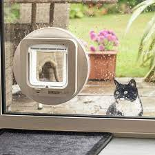 fitted cat flaps in glass doors suffolk