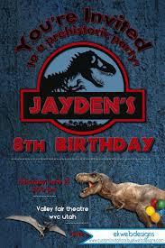 Jurassic Park Invitations Jurassic Park Invitations Fresh 196 Best Kids Birthday