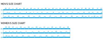 Shimano R321 Size Chart Shimano Shoe Size Guide Bike Shoe Conversion Chart Sidi