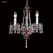 3 arm mini crystal chandelier